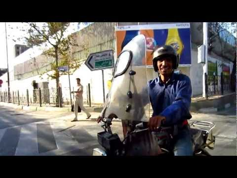 Moto Taxi Accident in Tehran (#11) | Street Scenes of Iran 2012 | Travel to Iran