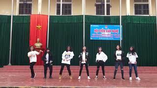 Nhảy Power Little Mix - Bboom Bboom - Samsara - Mashup Kpop of K57D1 THPT Đô Lương 1