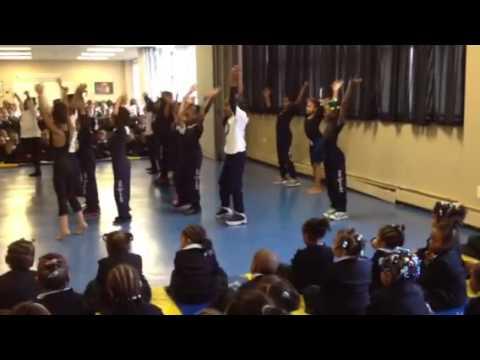 Becky Shakin it at Trey Whitfield School - 01/25/2013