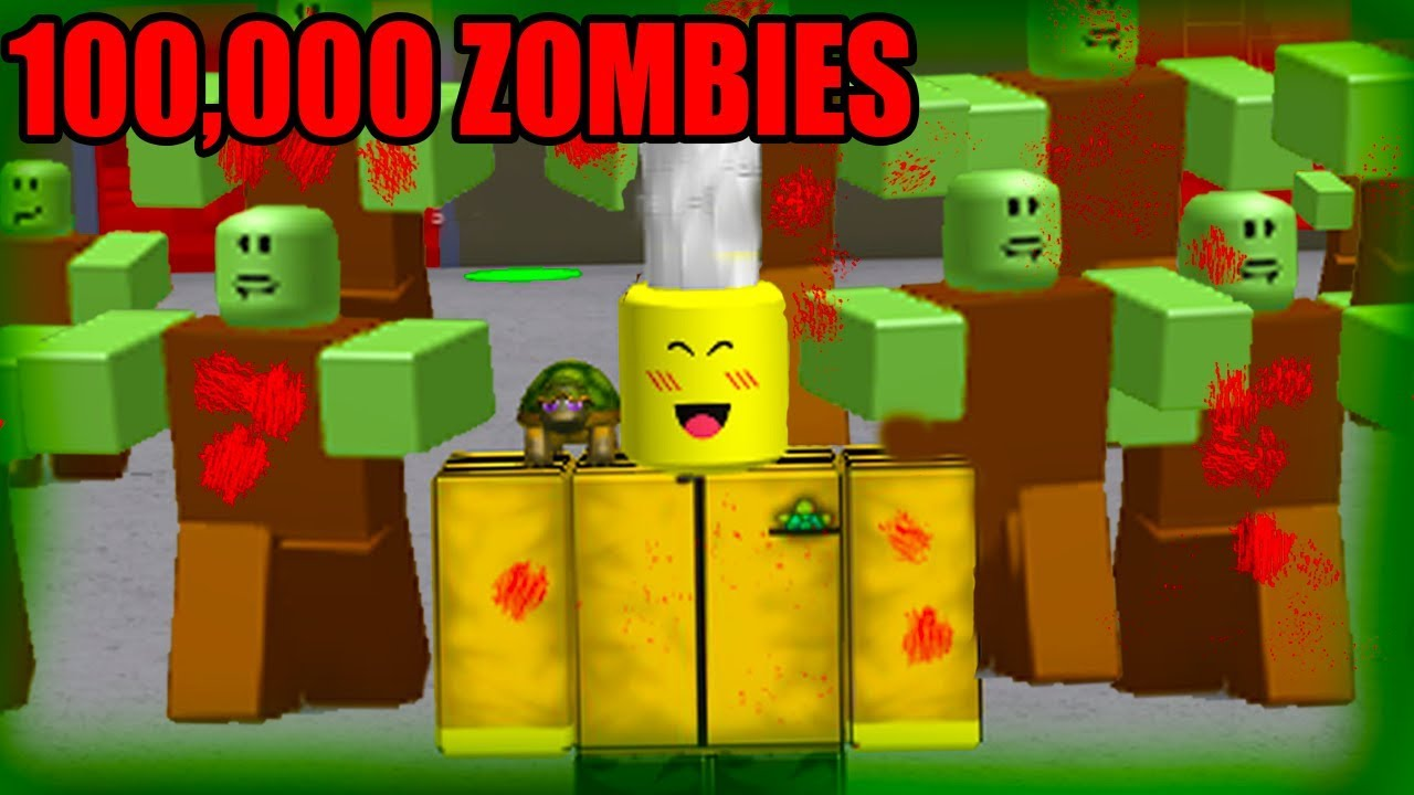 MAKING MY OWN ZOMBIE ARMY (Roblox Infection INC)