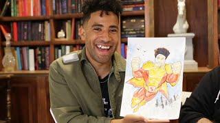 KYLE Designs His Marvel-Inspired Superhero