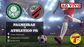 Palmeiras x Atlético PR