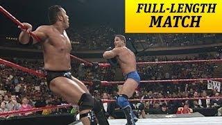 FULLLENGTH MATCH Raw Ken Shamrock vs The Rock Intercontinental Title Match