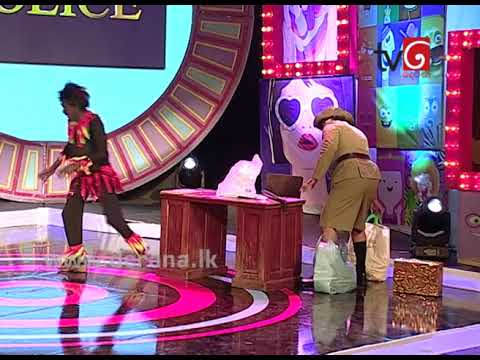Asanga & Nandana | ගොරොක් ගහෙන් වැටුණු යකා @ Star City Comedy Season ( 29-10-2017 )