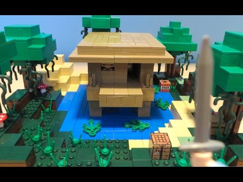 LEGO Minecraft Witch Hut