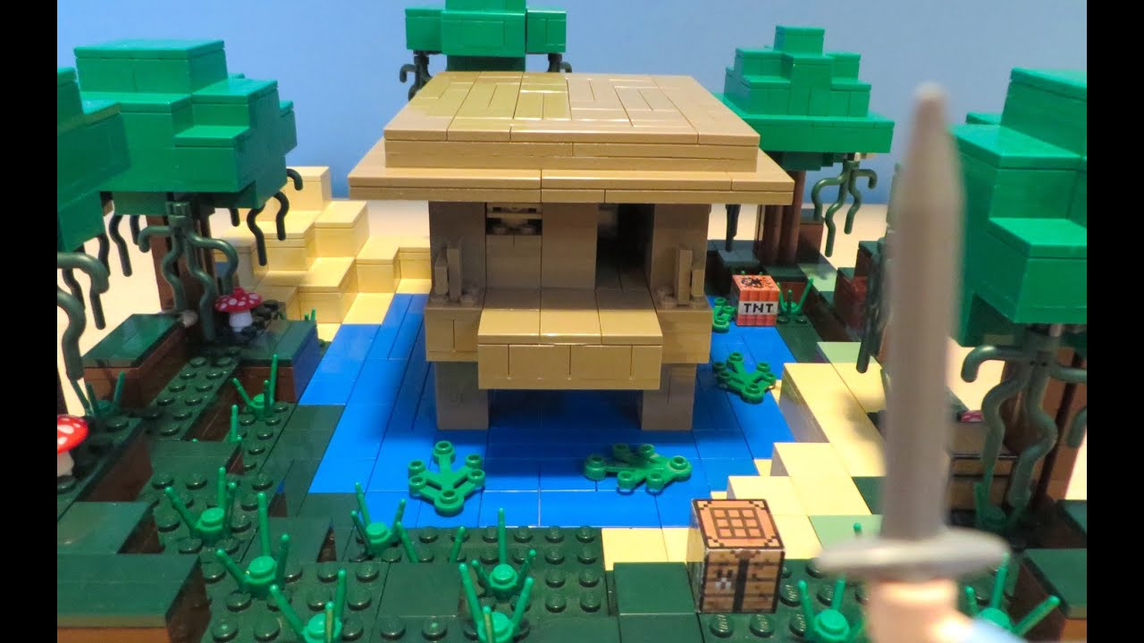 LEGO Minecraft Witch Hut - YouTube