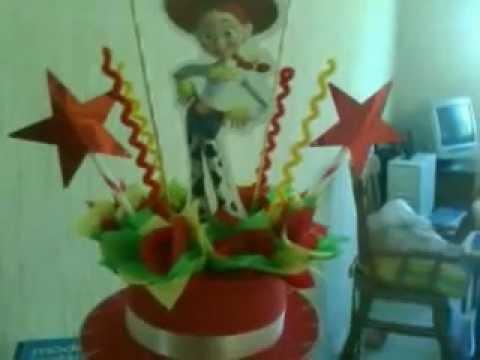 Centro De Mesa de Jessie la vaquerita - YouTube