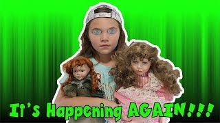 It's Happening Again! The Doll Maker Is Controlling Carlie! Alien Takeover