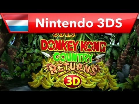 Donkey Kong Country Returns 3D - Trailer (Nintendo 3DS)