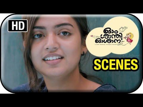 Om Shanti Oshana - Nazriya Nazim Meets Nivin Pauly In Bus Stop video
