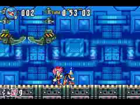 Sonic Advance 3 Gold Run - Ocean Base Boss Video