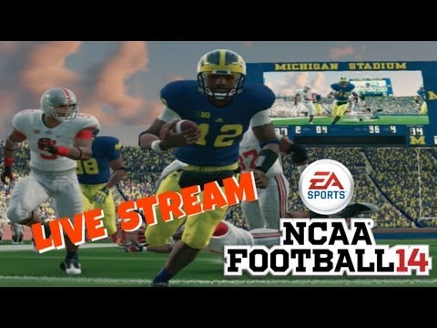NCAA Football 14 Demo Live Stream