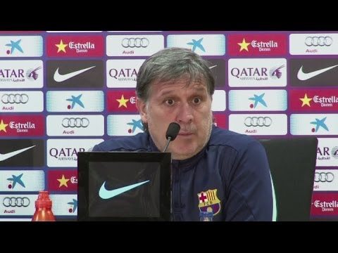 Barca must focus against Osasuna, says Martino