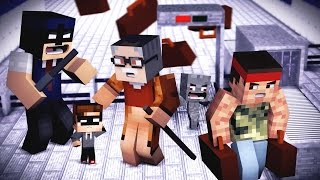 TOTALE ESKALATION AM FLUGHAFEN | WHOS YOUR DADDY MINECRAFT