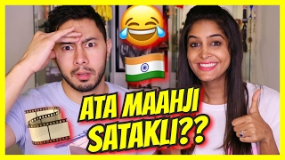 American Tries Bollywood Dialogues For the First Time | Feat. Jaby Koay