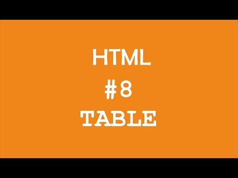 Download  Tabel HTML #8 - Pemrograman Web Gratis, download lagu terbaru