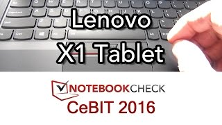 Lenovo X1 Tablet and keyboard Overview