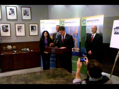 Pa. Lt. Gov. Jim Cawley on the Marcellus Shale Advisory Commission
