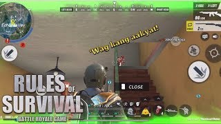WHEN YOUR TEAMMATES ARE LAGGING - Rules of Survival (Tagalog)