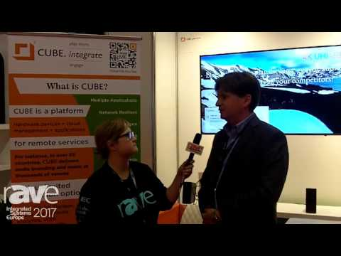 ISE 2017: Sara Abrons Interviews Charl Coetzee of Cube MC