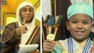 Ahmad Anak Yatim dari Tegal Juara 1 HAFIZ INDONESIA 2017, Syeikh Ali Jaber: Ahmad Luar Biasa  Ahmad