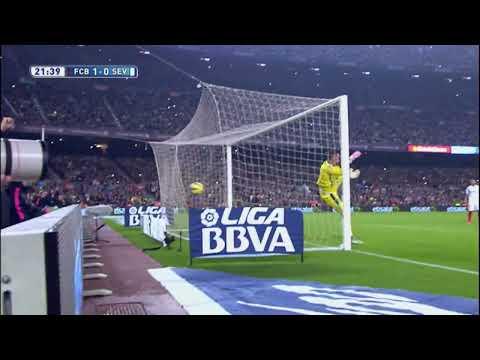Messi iguala a Zarra como máximo goleador en Liga BBVA - HD
