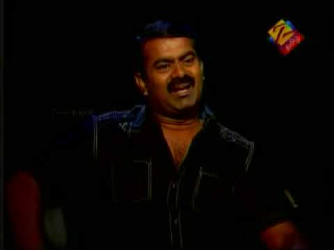 Seeman Interview in Zee Tamil 1/7
