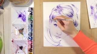 Painting Tutorial - Sandy Duncan
