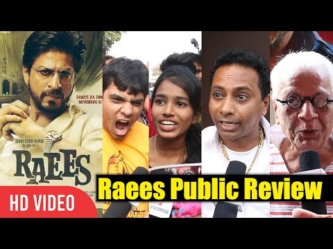 Raees Movie Public Review | Raees Crazy Review | Shahrukh Khan, Nawazuddin, Mahira Khan | #Raees thumbnail