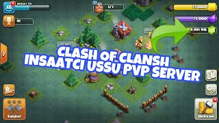 CLASH OF CLANSH INSAATCI USSU PVP SERVER