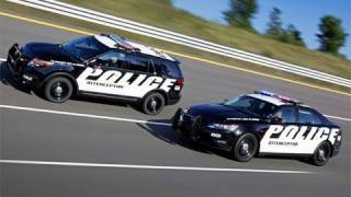 2012 Ford Interceptor Police cars revealed