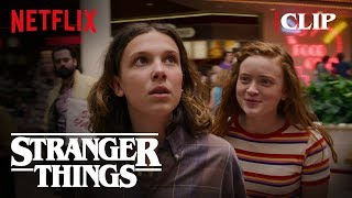 El & Max Shopping Scene | Stranger Things 3 | Netflix