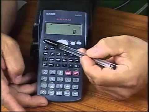 Dicas Básicas no Uso da Calculadora Científica Casio