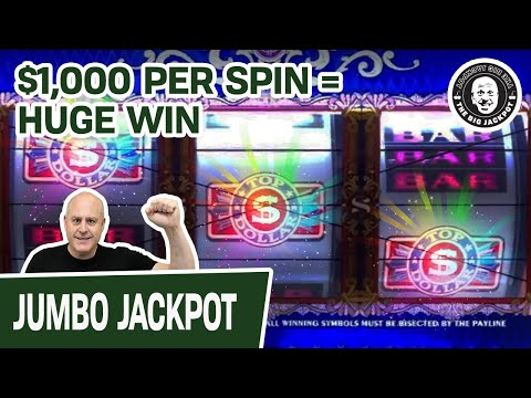 💥THRILLING PART 2 FINALE 💵TOP DOLLAR! 💰$1000 a Spin & HUGE WIN$ 💵