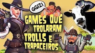 Games Que Trolaram Trolls e Trapaceiros - Quasar Jogos
