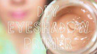 DIY Eyeshadow Primer