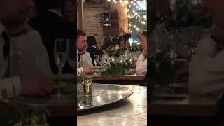 Tim speech Demi Wedding