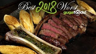 Best and Worst 2018 GugaFoods - YouTube Rewind!