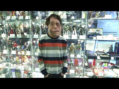Adam Pearson, His Love For Sci-fi & Fantasy, At Forbidden Planet - Londoner #67