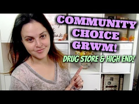 LIVE CHAT - Choose Your Own Adventure Get Ready With Me (GRWM)!   Jen Luvs Reviews