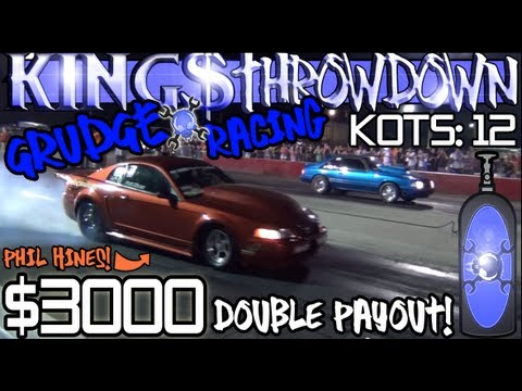 $3000 Thursday Night Lightz grudge racing KOTS 12, Kings Throwdown 8-2