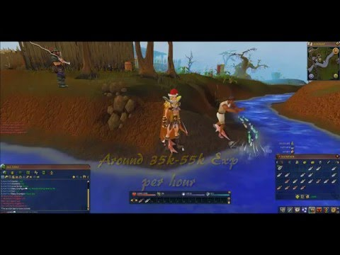 Runescape – 1-99 Fishing Skiller Guide F2P and P2P 2014