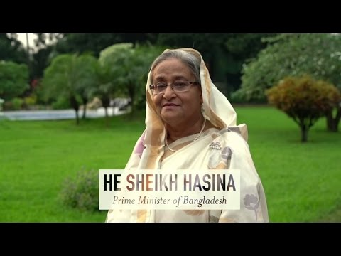 HE Sheikh Hasina, 2015 Champion of the Earth