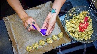 Oil Free Baked Falafel Simple Vegan Recipe