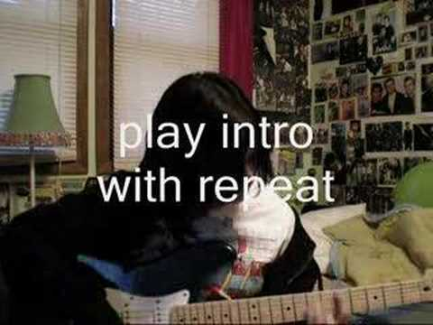 Welcome to Paradise Chord Instruction