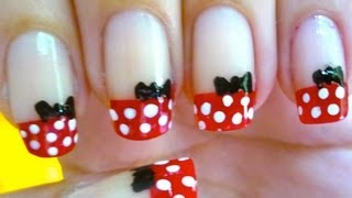 Nail art   mickey mouse nails   decoracion de uas on uas decoradas de mickey mouse