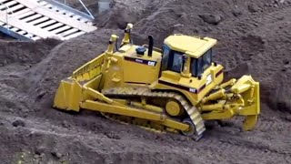 RC Cat Bulldozer High Track Construction