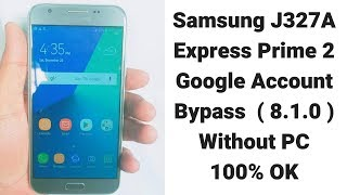 SM-J327A How To Remove Google Account Without PC 100%OK   | mobile cell phone |