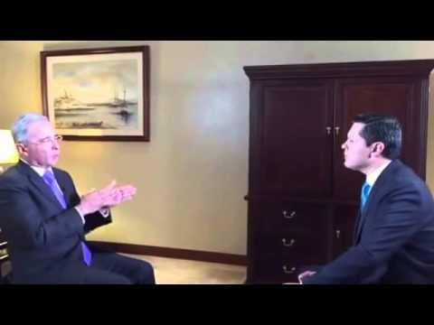 Entrevista/ Yo soy un combatiente de frente: Álvaro Uribe Vélez
