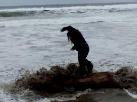 Falling in the Ocean
